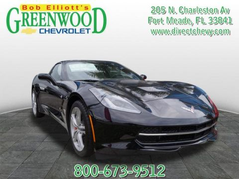 New Chevrolet Corvette Stingray