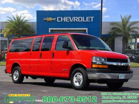 Used Chevrolet Express Passenger VAN 3500 EXT WB