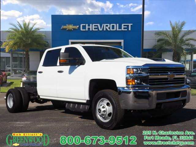 Certified Pre Owned 2017 Chevrolet Silverado 3500hd Cc Work Truck
